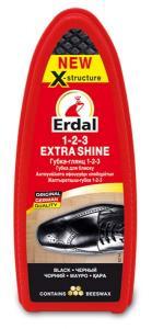 Губка глянец Erdal чорная