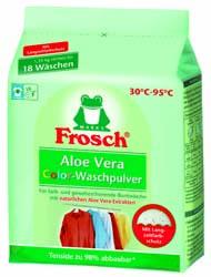 FROSCH / ФРОШ Бесфосфатный стиральный порошок-концентрат Колор / Алоэ Вера 1350ml