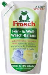 FROSCH / ФРОШ Гель-бальзам для шерсти и деликатных тканей 2 L