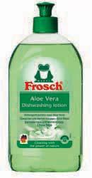 FROSCH / ФРОШ очищающий бальзам-гель для посуды Алоэ Вера. 500 ml
